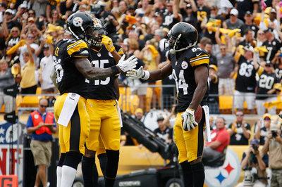 Congratulations to Steelers Antonio Brown