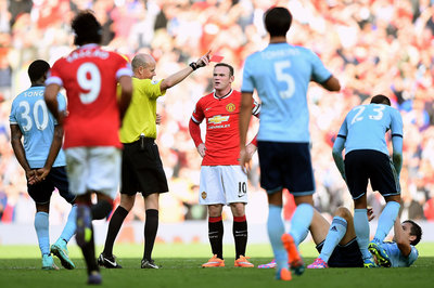 Rooney accepts he deserved to be sent off