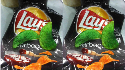 Once in a Blue Moon, You Might Find Bright Green Chips in Your Lays Bag