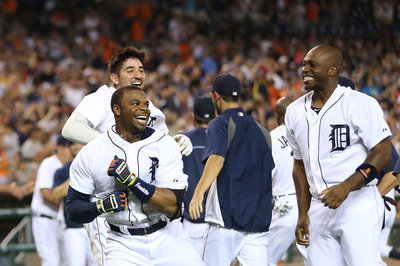 Tigers Report Card: Rajai Davis proved to be a solid spark