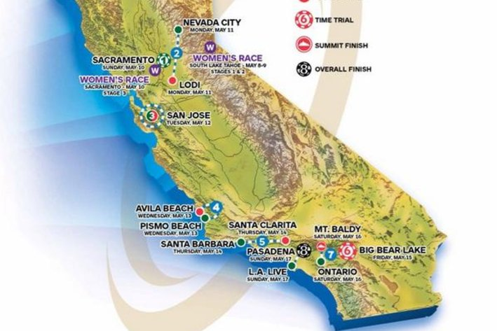 Photo: The Tour of California has been under pressure to put on a proper women's race, as they use to run a UCI-level crit.