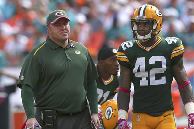 Packers injury report: Burnett sidelined with unknown ailment