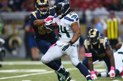 Seahawks use of heavy sets vs. Rams signal change in style going forward?