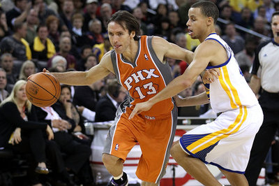 The end of Steve Nash and the next closest predecessor