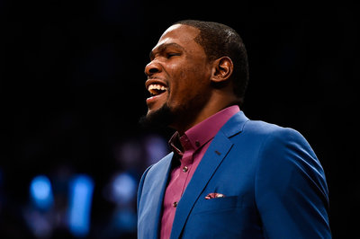 Kevin Durant may have already narrowed it down to the Wizards and Thunder in 2016