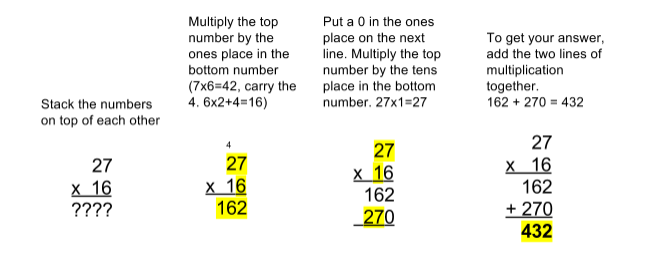 Number Names Worksheets how to multiply by 2 digit numbers : The Common Core makes simple math more complicated. Here's why. - Vox