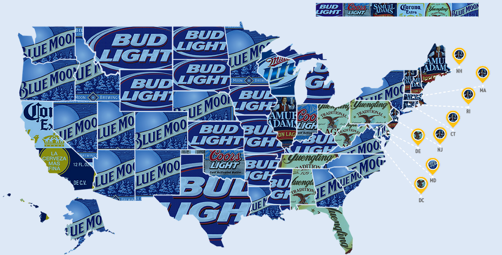 Top Beers By State