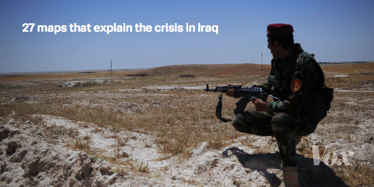 27 maps that explain the crisis in Iraq | vox com