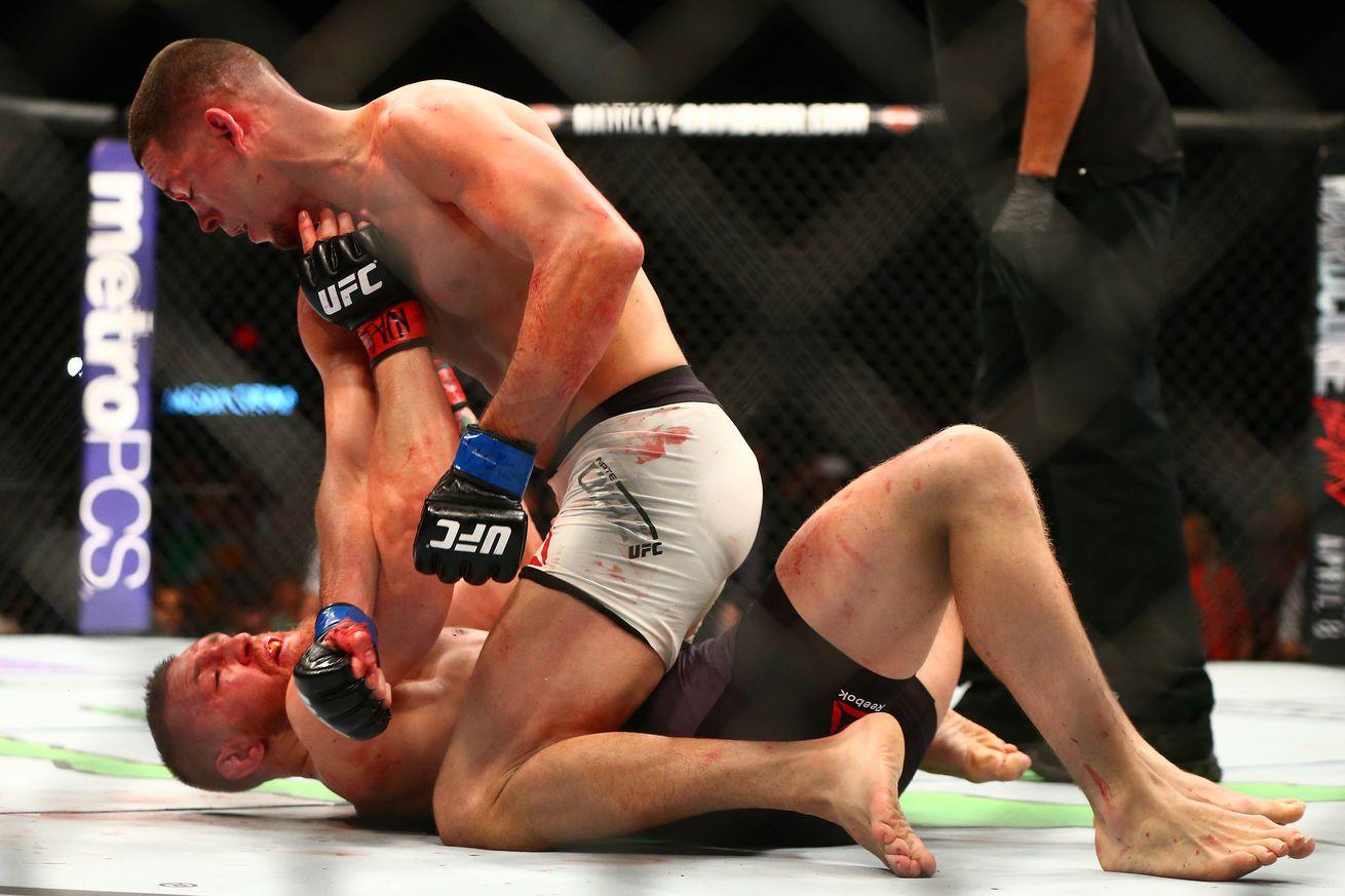 UFC lightweight contender and analyst Gilbert Melendez says McGregor vs Diaz rematch will end the same way