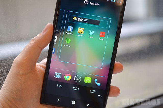 Android Windows Phone dual-boot stock