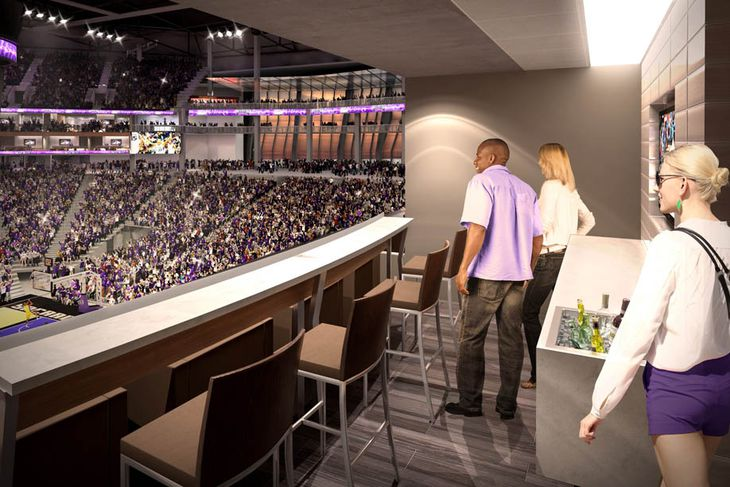 Kings Arena Drawings at The Kings' New Arena