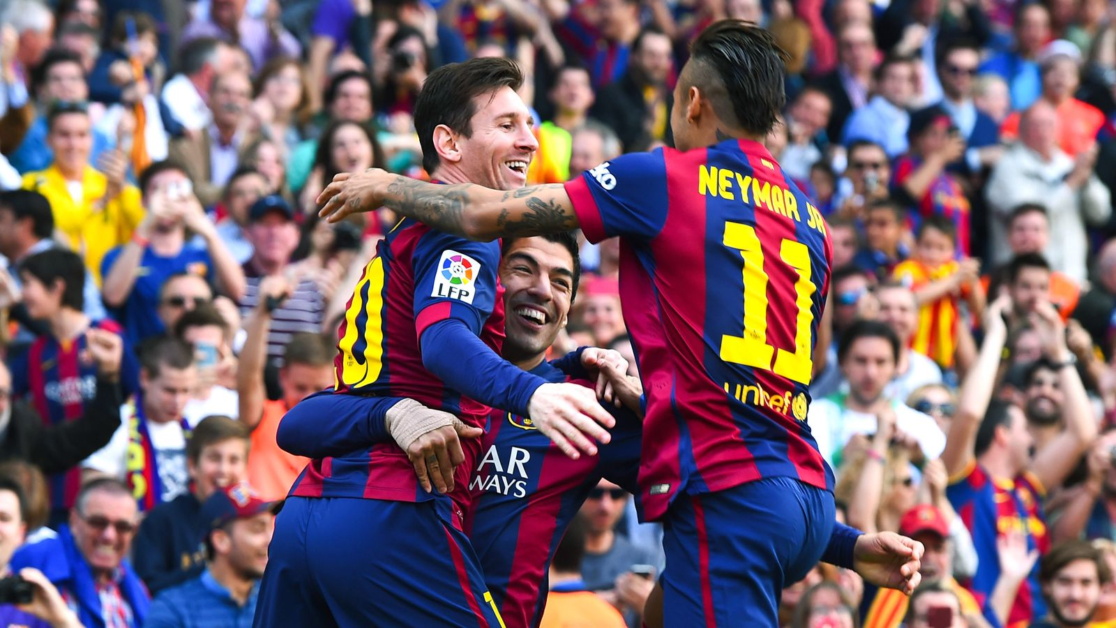 Barcelona Fc: FC Barcelona's MSN Trident Nearly As Prolific As Entire