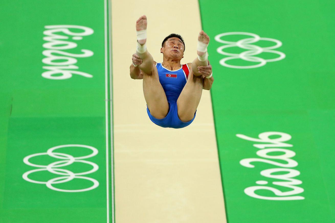 Gymnast Ri Se Gwang wins North Korea's 2nd gold medal in Rio