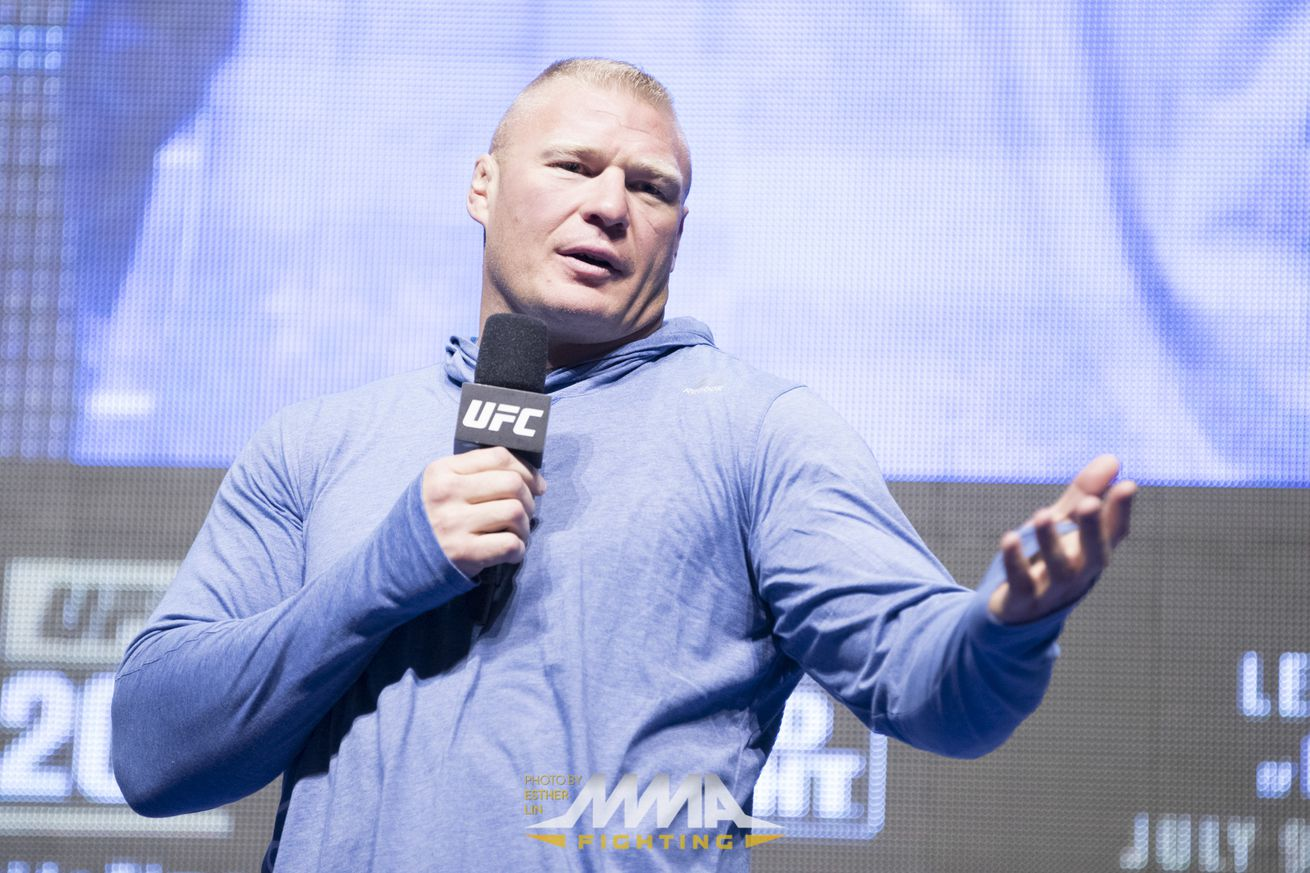 WWE releases statement regarding Brock Lesnar's drug test failure