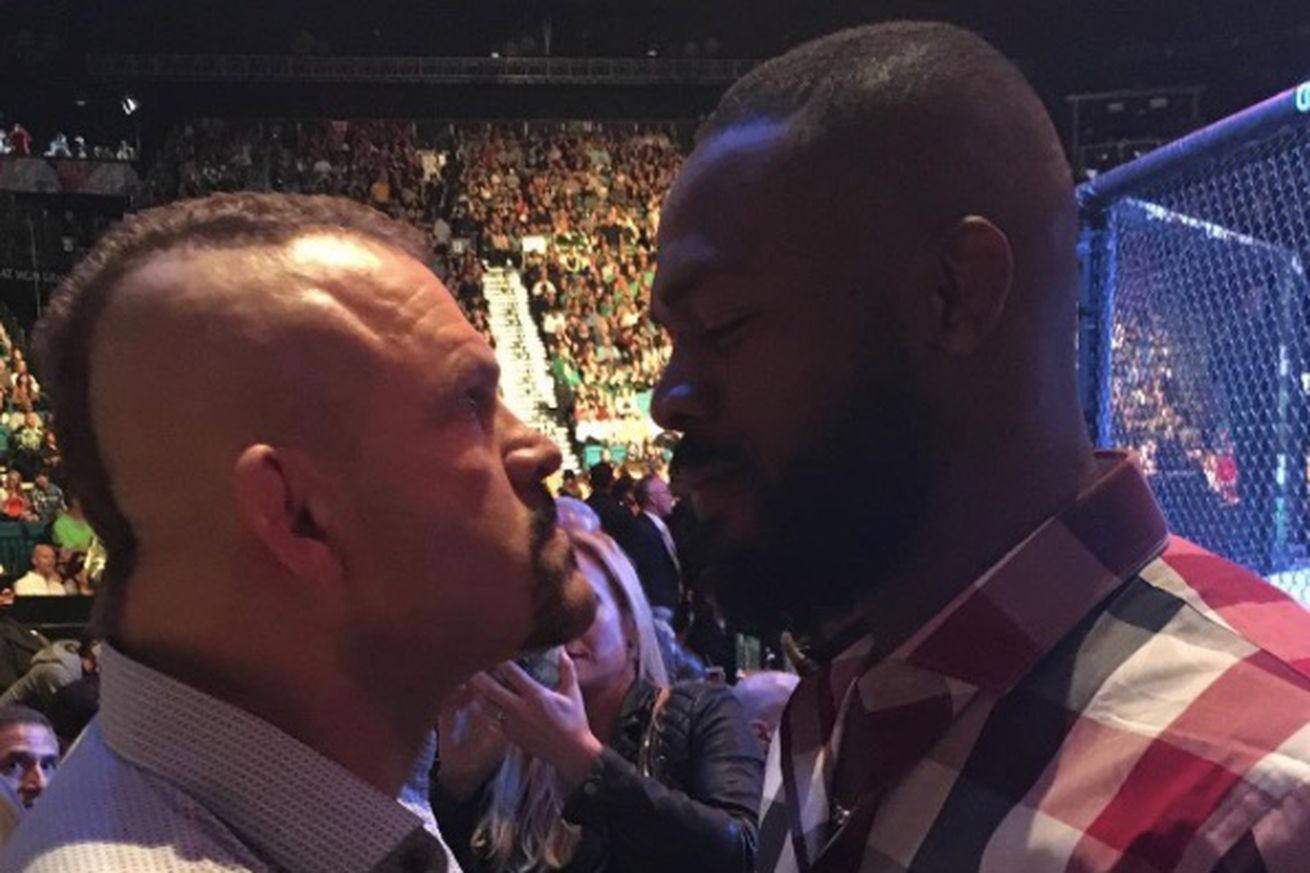 community news, Chuck Liddell: Dana White thought Jon Jones and I were going to fight in stands at UFC 196