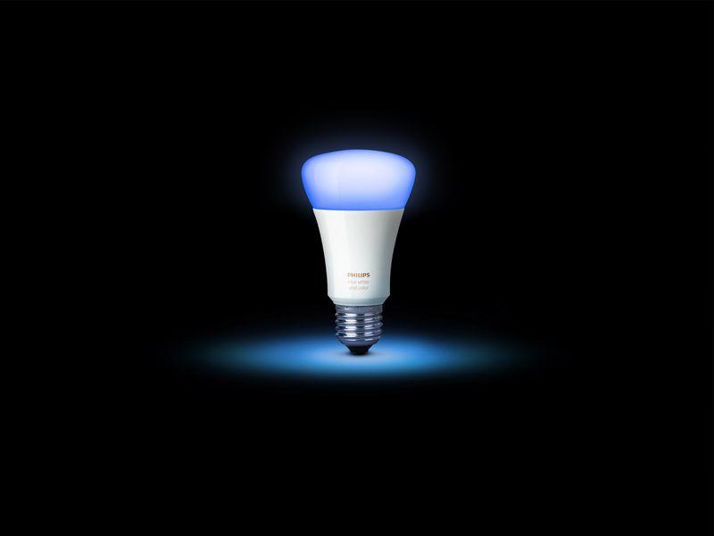 Philips Hue new A19 bulb cyan