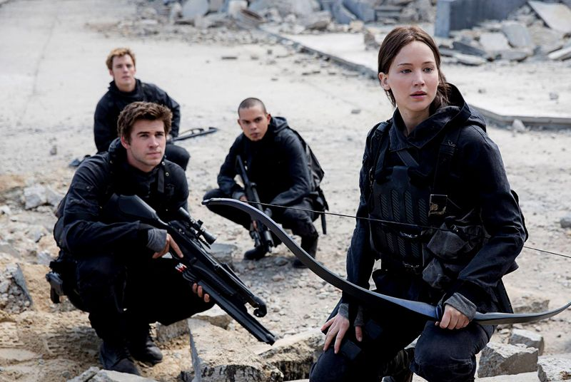 New trailers: The Hunger Games, The Good Dinosaur, Spectre, and more