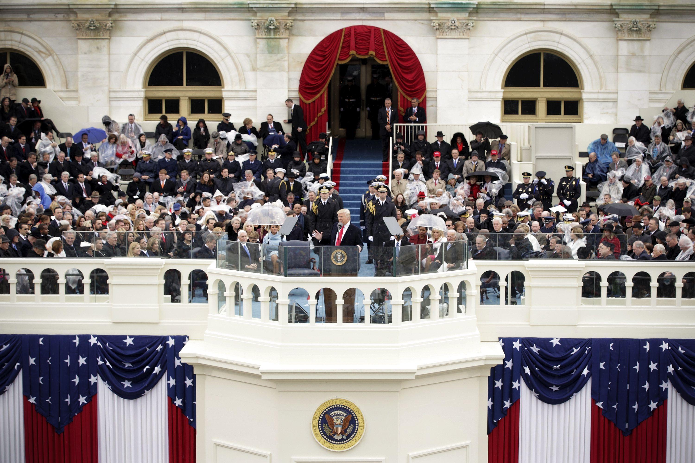 president trump u0027s inauguration speech annotated
