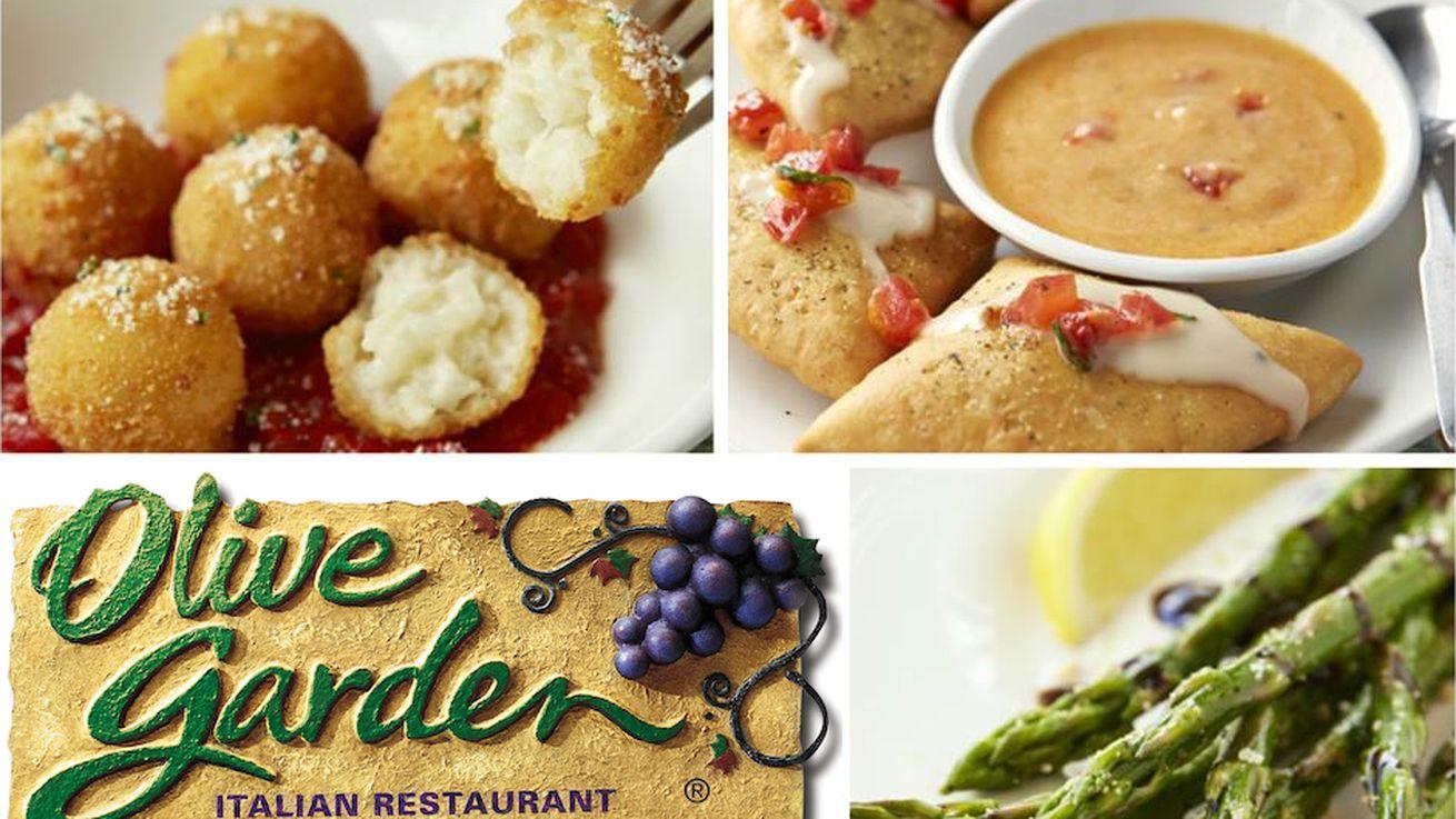 Pizza Olive Garden Menu: Olive Garden Launches Trendy 'Tapas' Menu