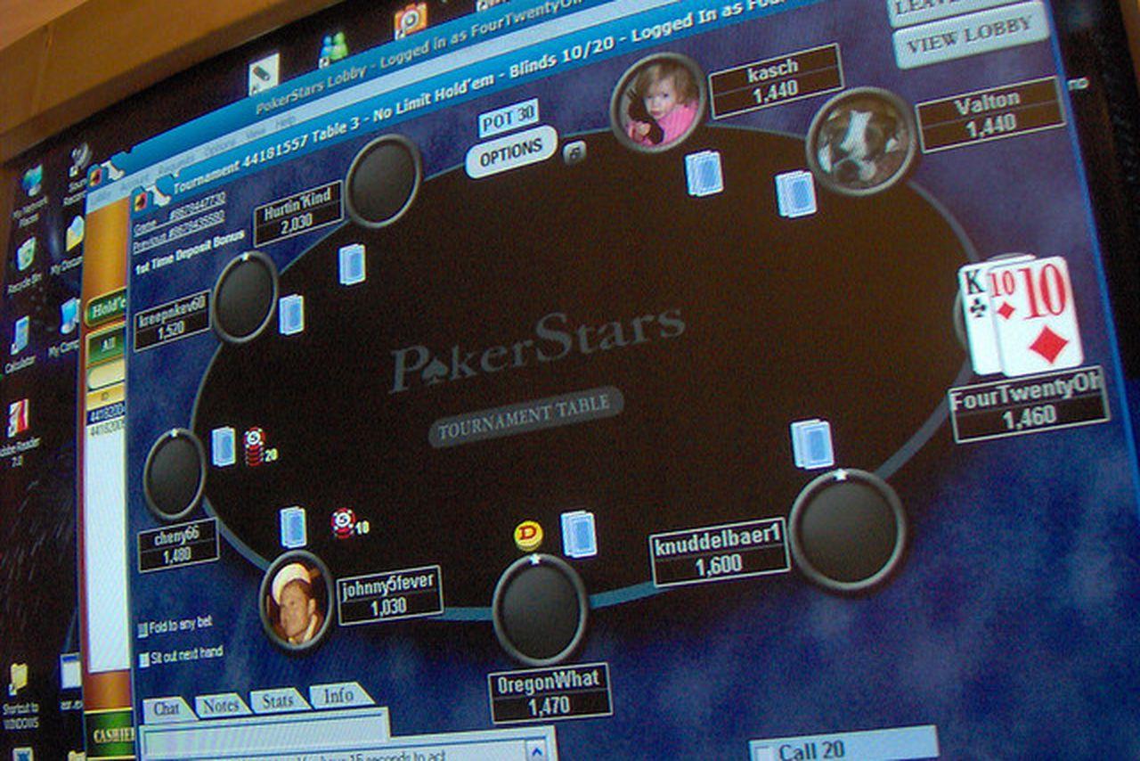 pokerstars bet