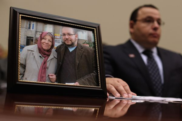Ali Rezaian, brother of Washington Post Tehran Bureau Chief Jason Rezaian, talks about his brother's imprisonment in Iran while testifying before the House Foreign Affairs Committee
