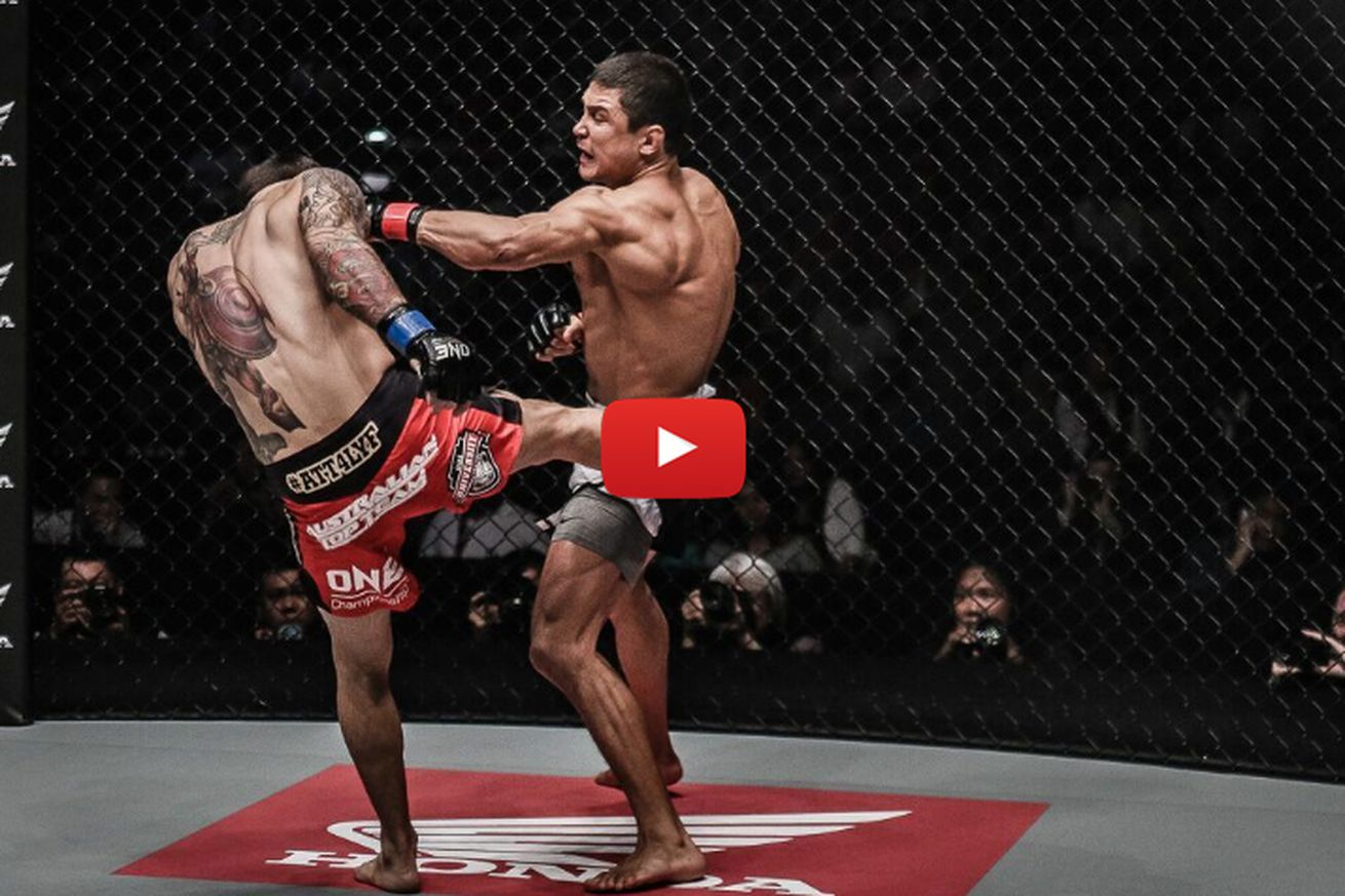 community news, GIF: Watch this insane six second KO at ONE Championship 43 in Bangkok