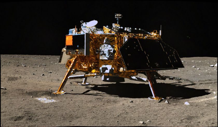 chinese spacecraft lands on moon - photo #6
