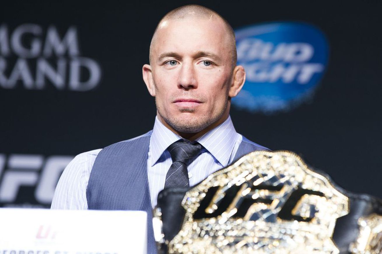 Georges St Pierre opens as betting favorite over UFC champ Tyron Woodley