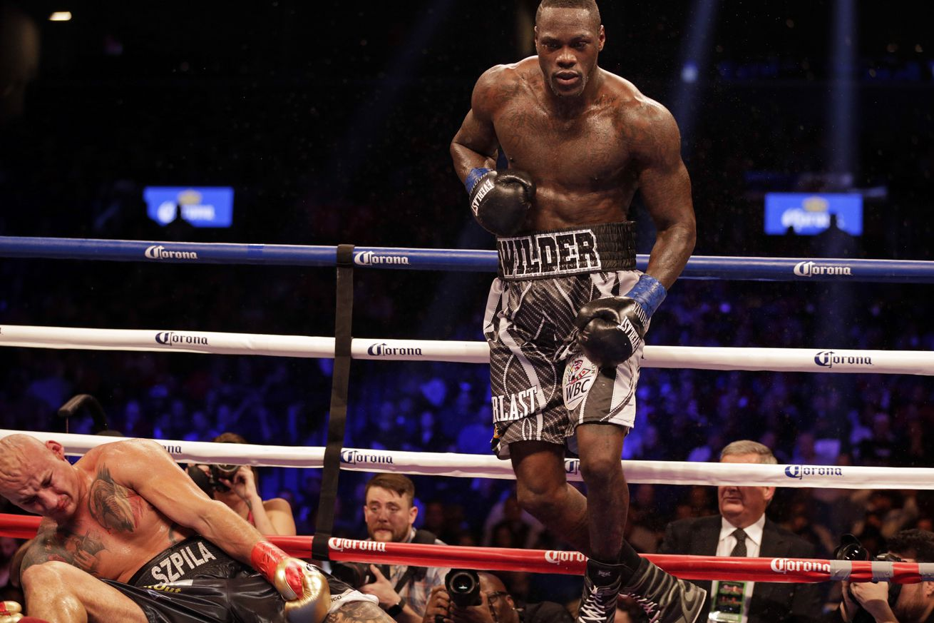 After long layoff, Deontay Wilder ready to get back into the ring