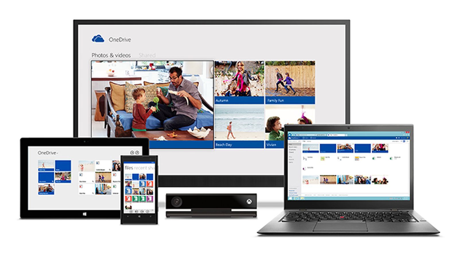 OneDrive for Windows 10 is now touch-friendly thanks to new universal app | The Verge