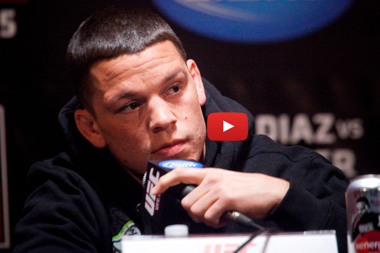 Live! UFC 202 press conference video with Nate Diaz, Conor McGregor