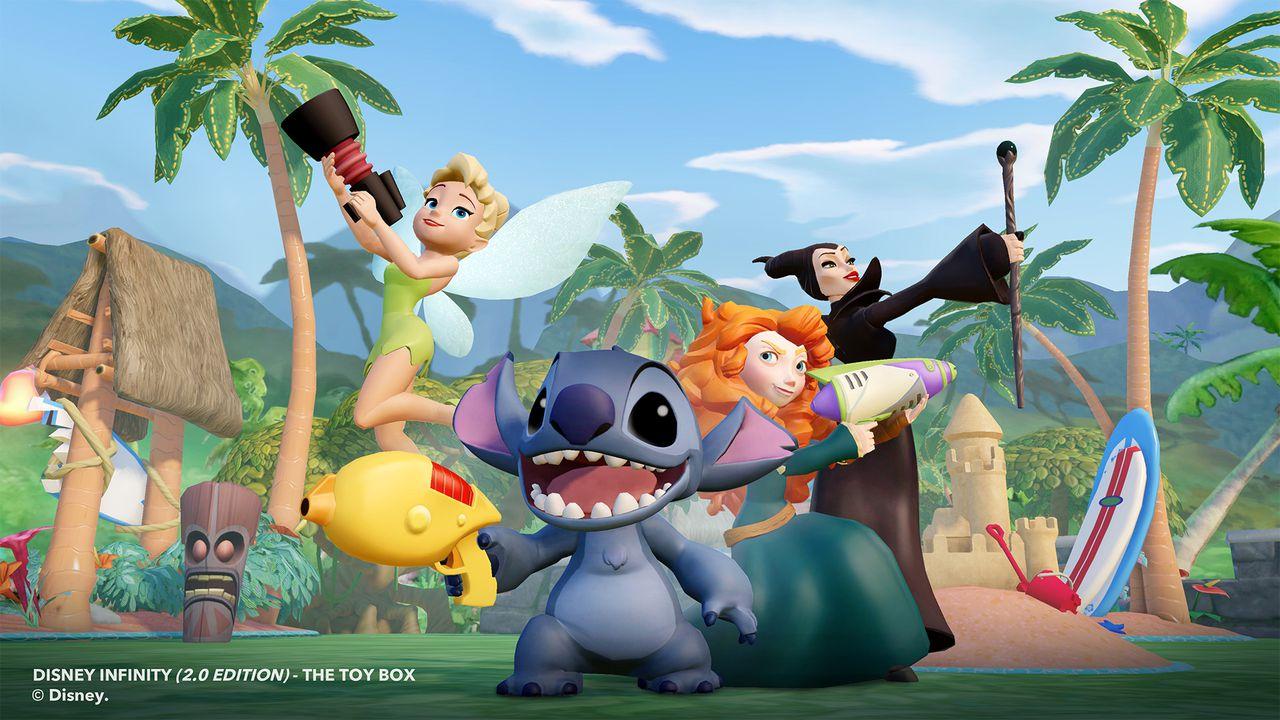 Disney Infinity 2.0 Peter Pan Disney Infinity 2.0 Roster