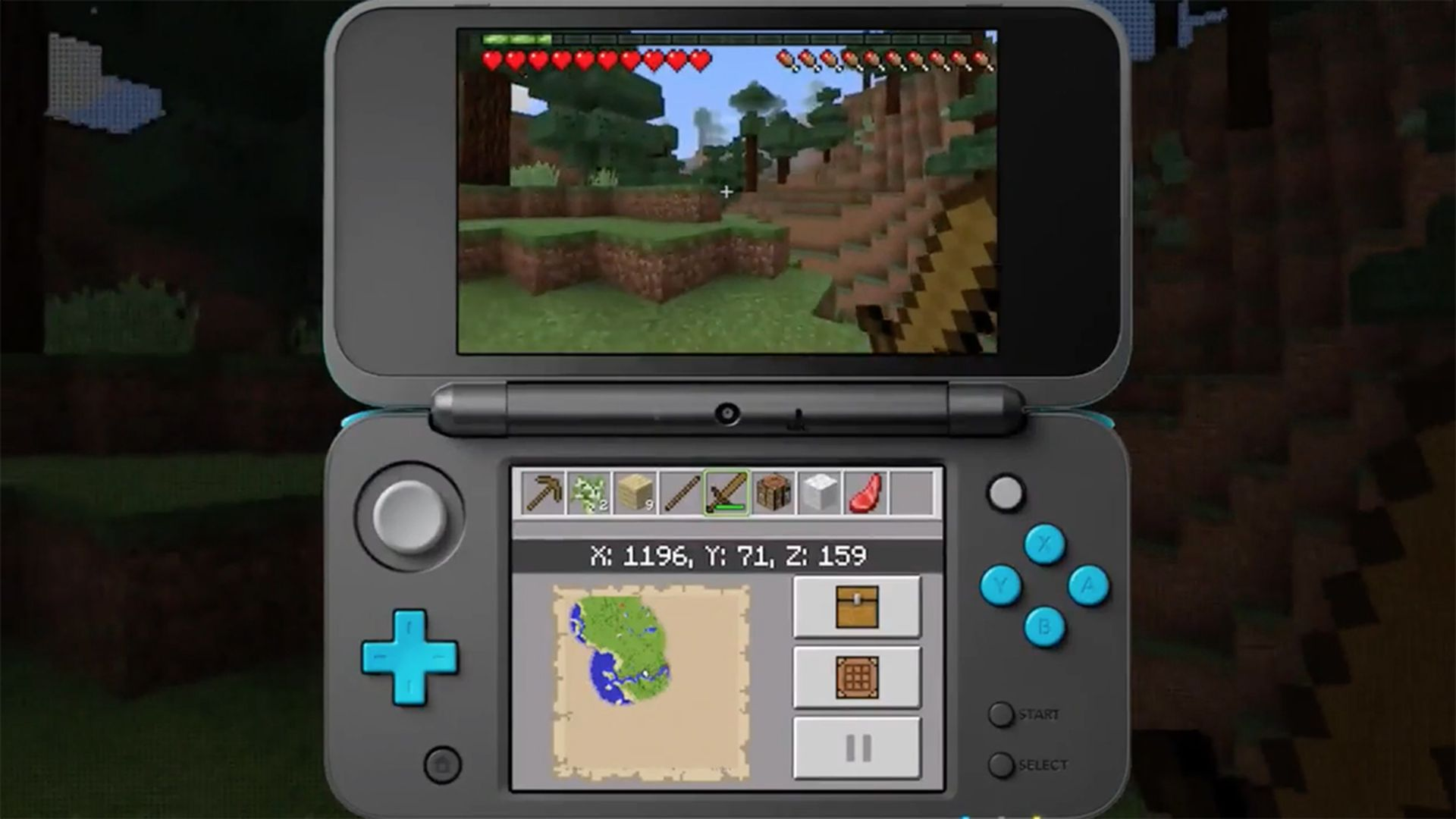 Minecraft Is Out Today For The New Nintendo DS Polygon - Minecraft spiele fur nintendo ds