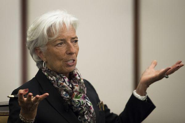 "Christine Lagarde's like ""meh."""