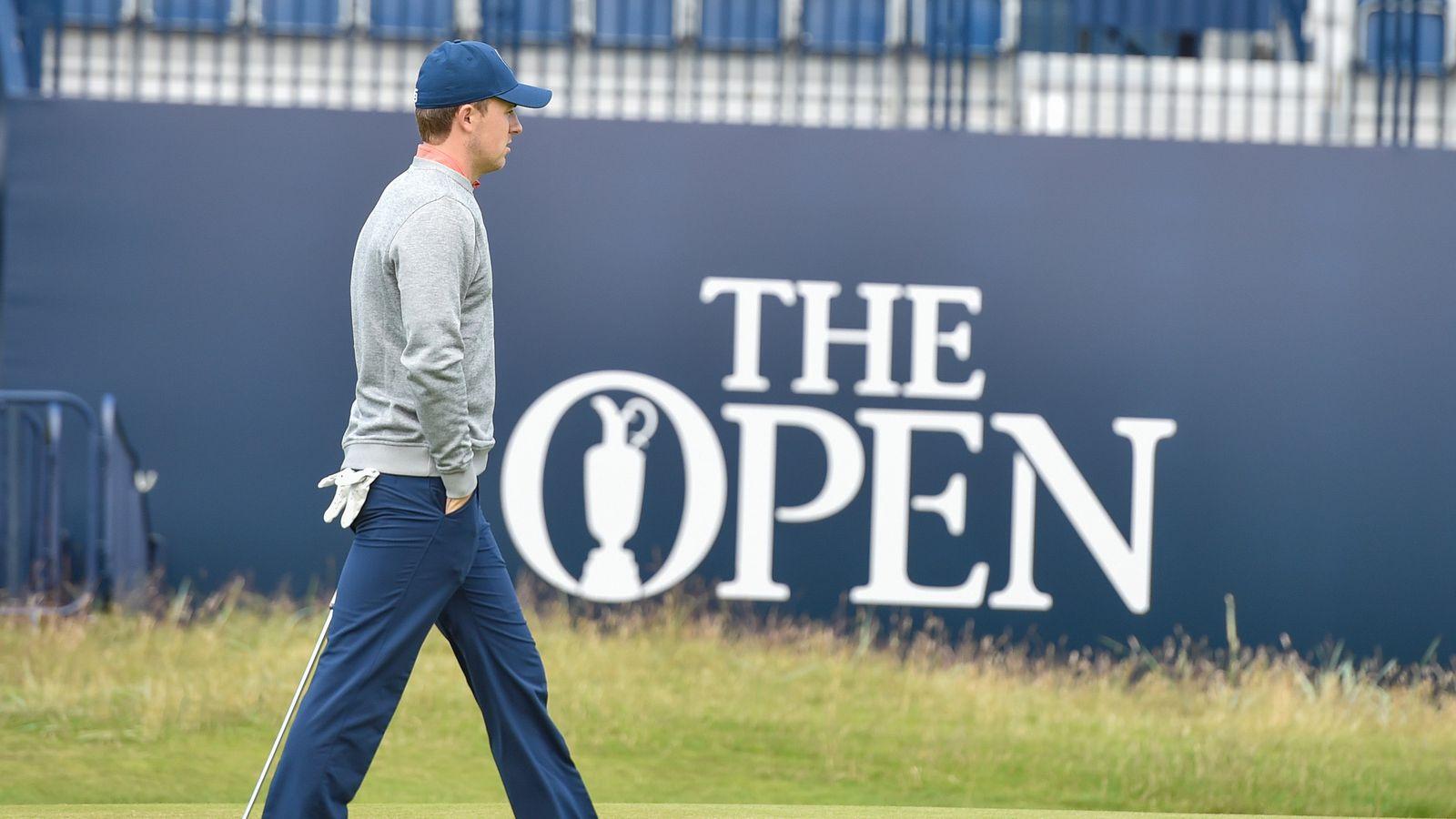 Open Championship live coverage