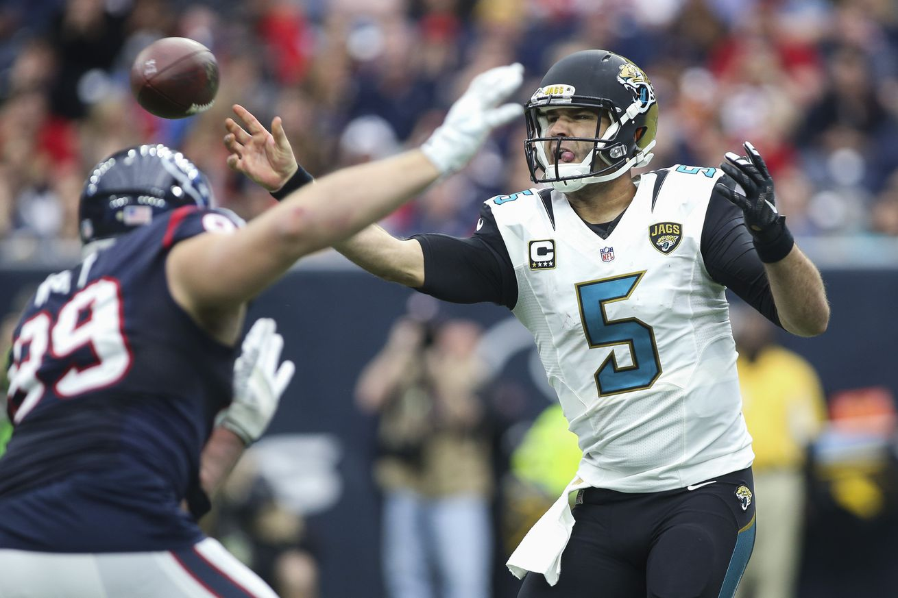 Jaguars lead All-AFC South team with eight selections