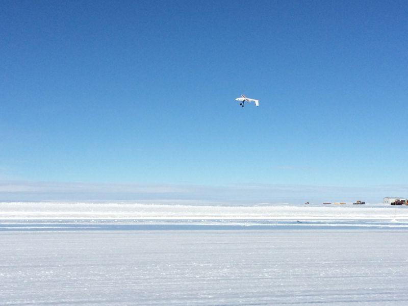 无人机可以帮助研究人员扫描监控南极冰架变化 第7张