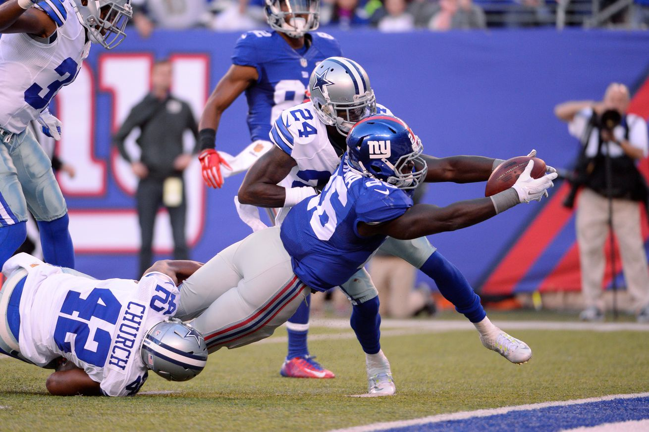 NFL Jerseys Official - Giants news, 10/30: Orleans Darkwa focused on playing his game ...