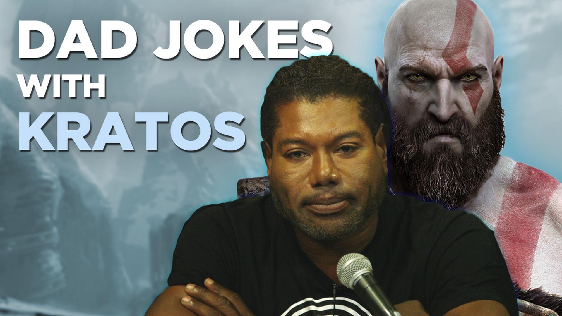 Watch God of War's voice of Kratos tell some bad dad jokes