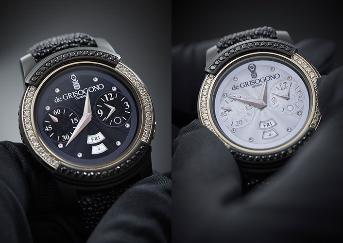 Samsung Gear S2 by de GRISOGONO Luxury Smartwatch Unveiled at Baselworld 2016