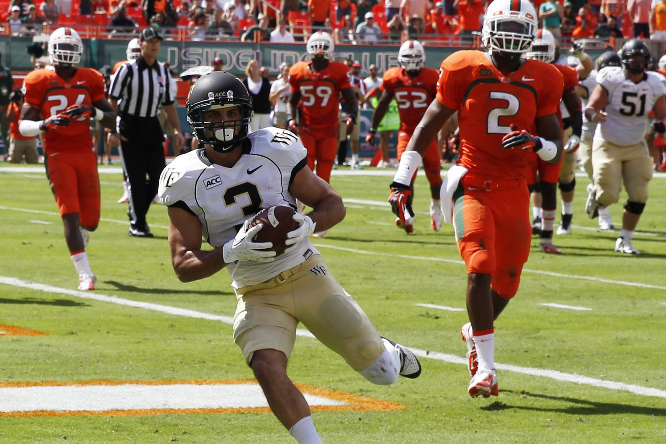 2014 NFL Draft Profile: Wake Forest wide receiver Michael ...