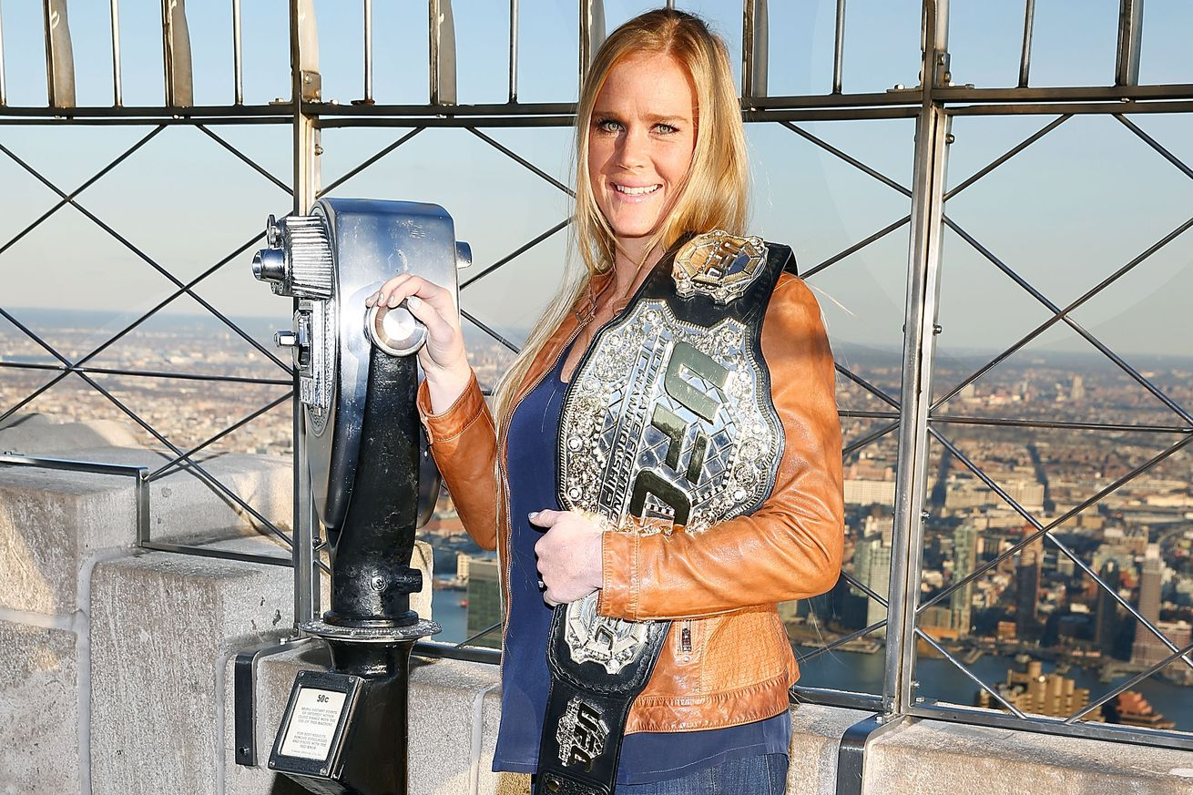 community news, See ya! Holly Holm plans on taking time off after UFC 196