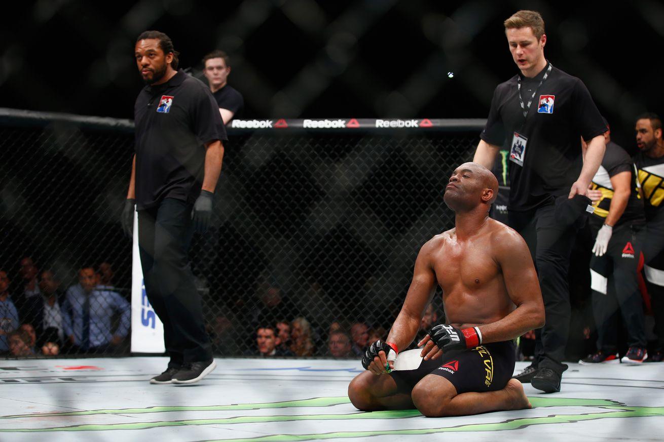 community news, Coach: Anderson Silva slowed down against Michael Bisping, was afraid he re injured bionic leg