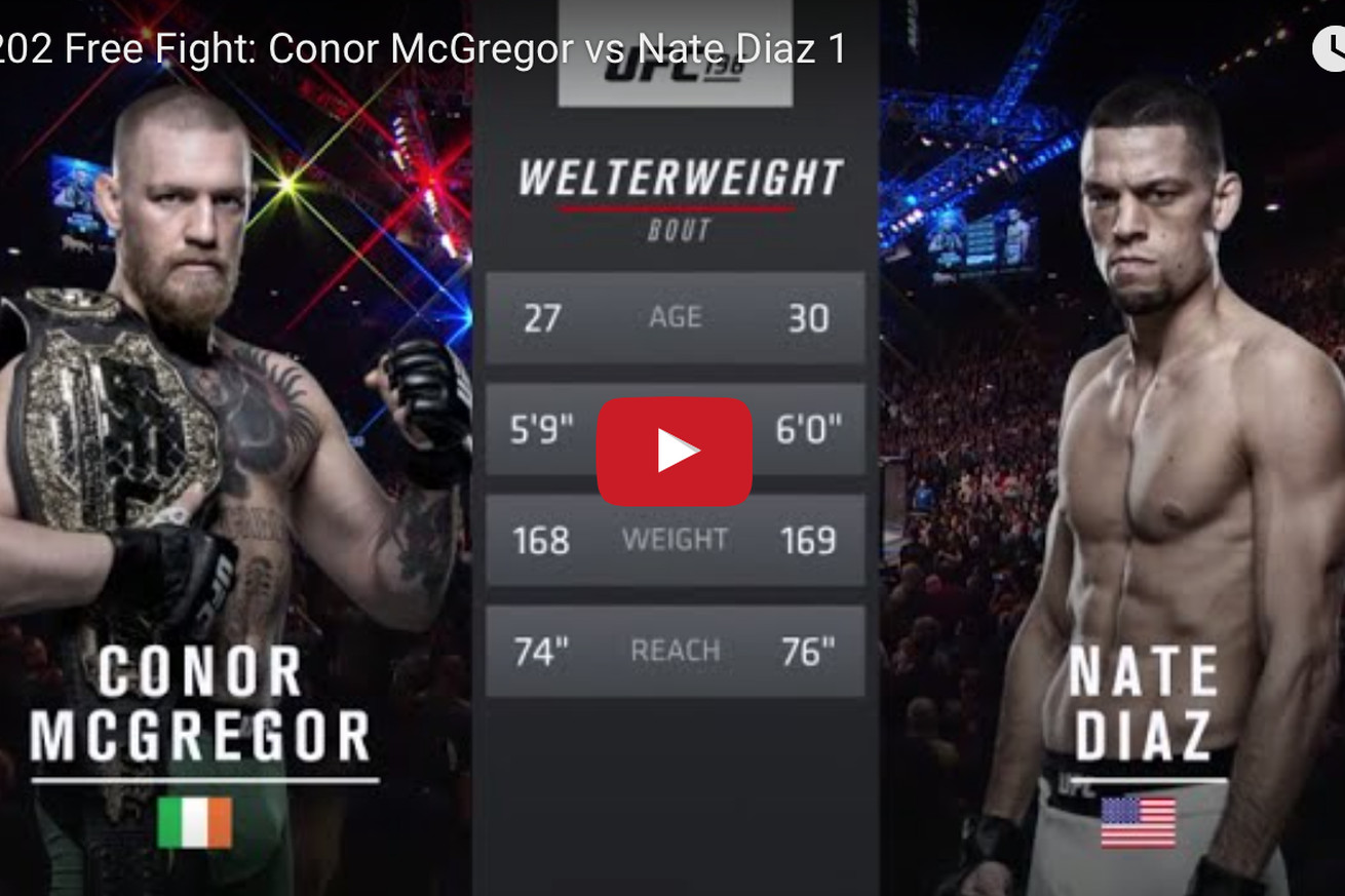 community news, Conor McGregor vs Nate Diaz full fight video released ahead of UFC 202 rematch