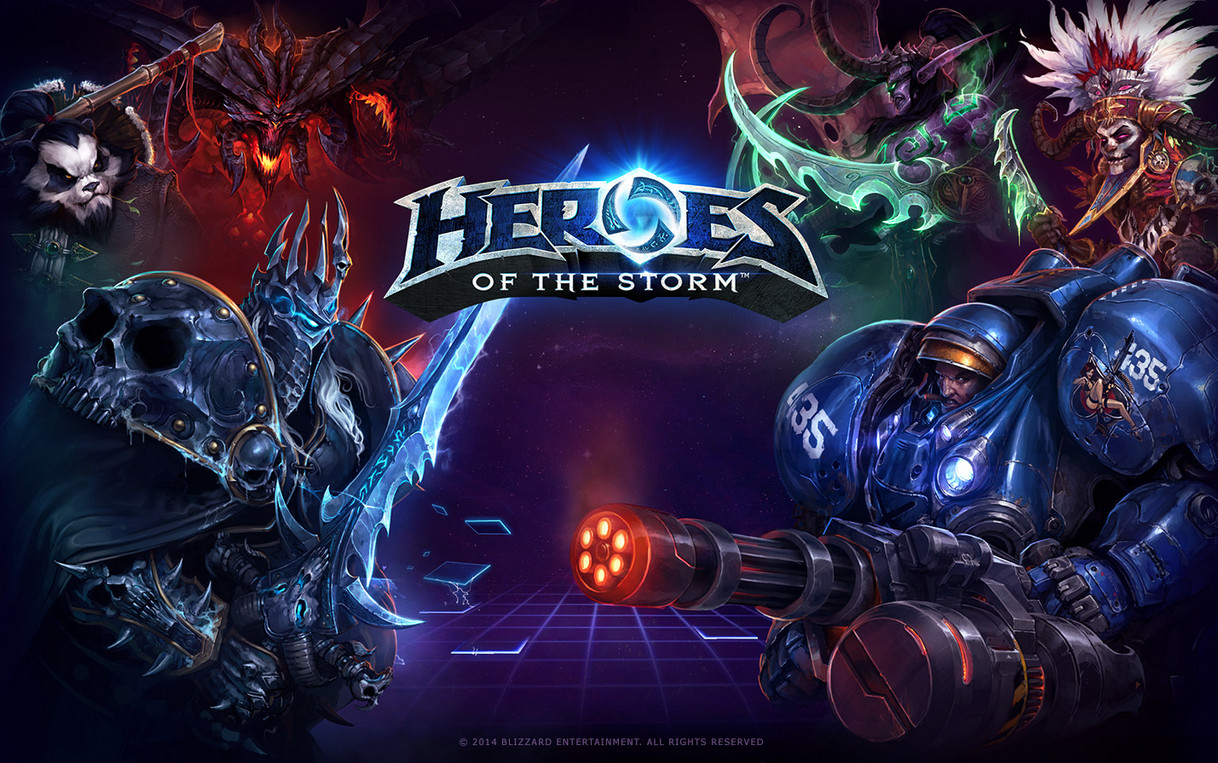Heroes Of The Storm Shop