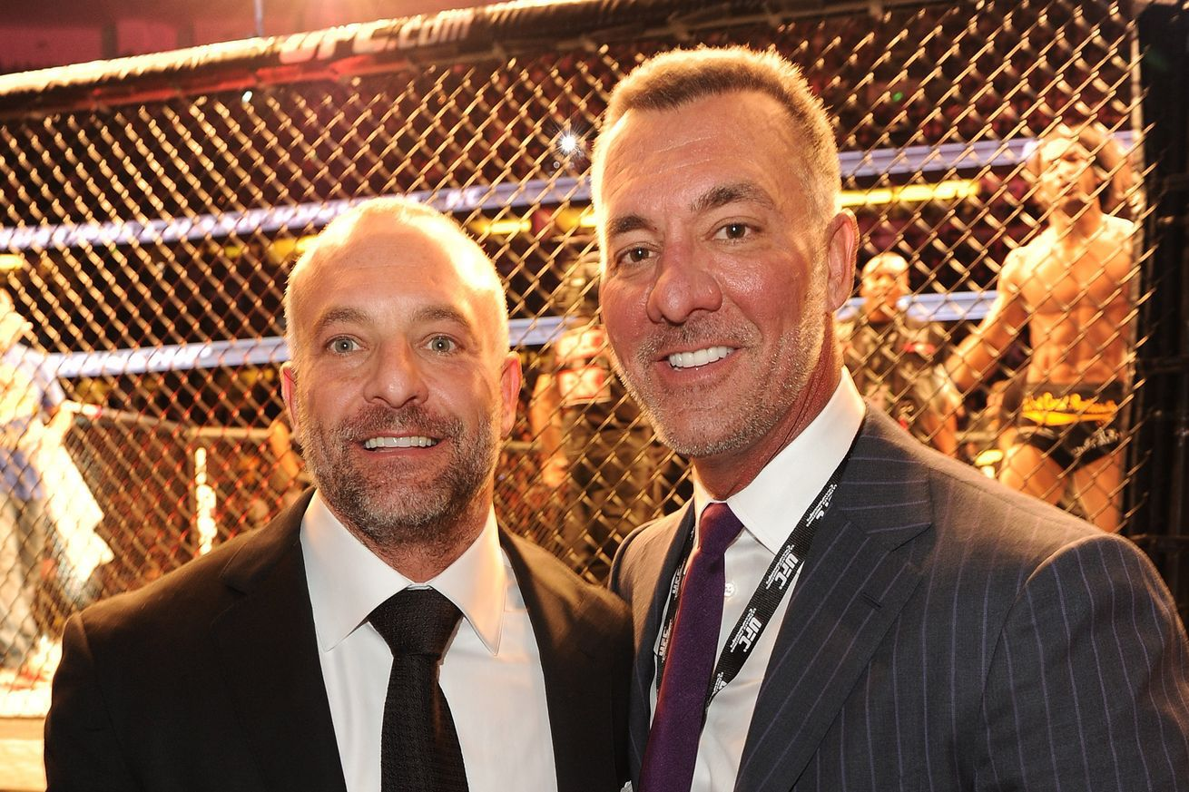 community news, Former UFC owners, Frank Fertitta and Lorenzo Fertitta, pocket nearly $1 billion each after recent sale