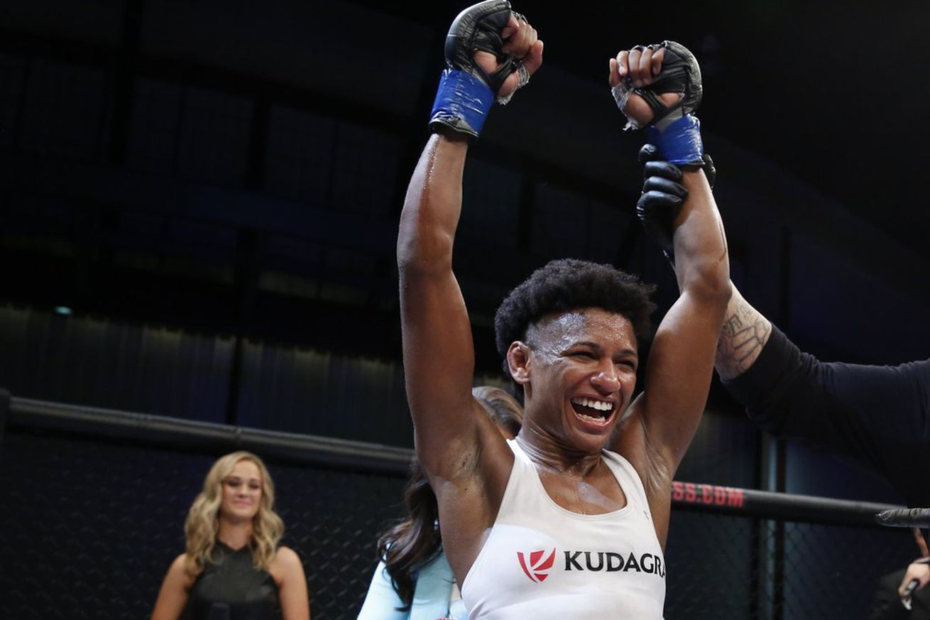 community news, Invicta FC 17 results: Tonya Evinger retains her title, Angela Hill wins strawweight gold