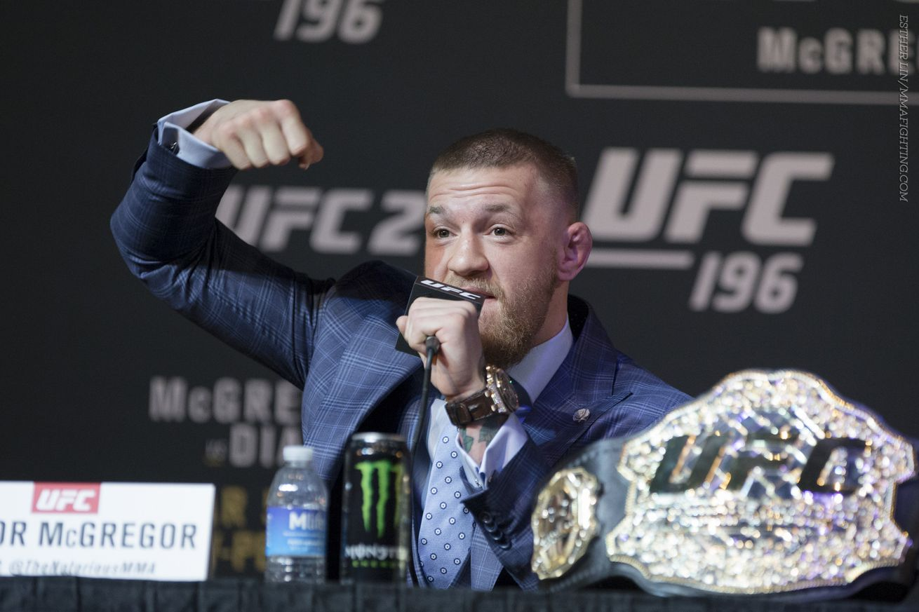 community news, Coach: UFC keeping Conor McGregor off New York card is going too far