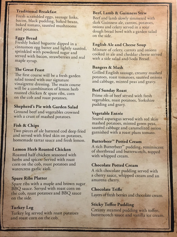 Dine Like Harry Potter at the Hog's Head Pub Inside ...