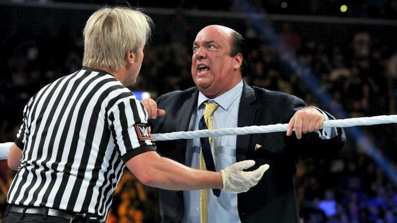 There s nothing i can do about it referee charles robinson on the